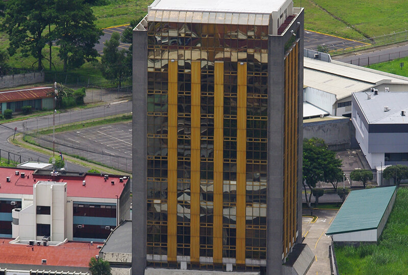 Banco Internacional de Costa Rica (actual edificio de RECOPE)